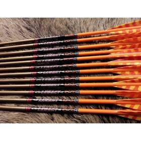 flèches sur mesure Easton Legacy pour arc traditionnel