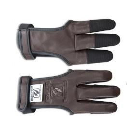 gant de tir à l'arc Buck Trail Amber en cuir et cordura