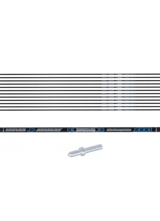tubes de flèche carbone ultra-fins Skylon Radius