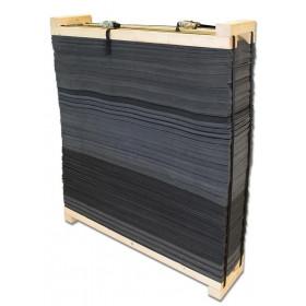 cible Avalon Foam Target wooden frame 130x130x30cm