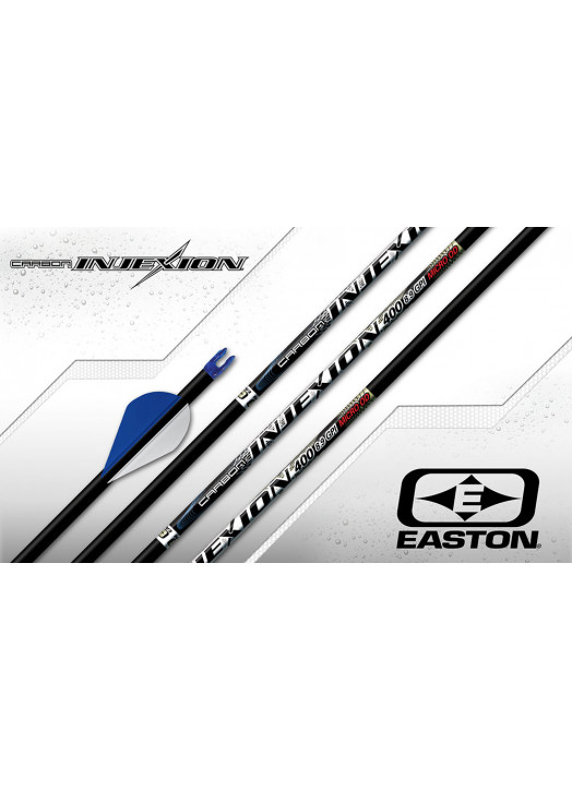 tube carbone ultra-fin Easton 4mm Injexion