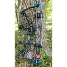 version custom du pack Chasse Femme Premium Bowtech Carbon Eva Shockey