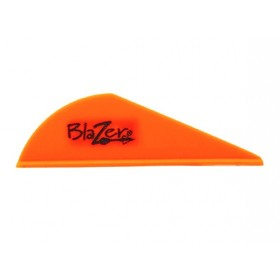 vane plastique Bohning Blazer orange Bright Orange