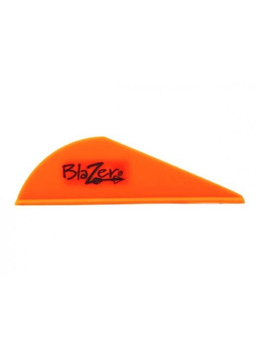 vane plastique Bohning Blazer orange Bright Orange