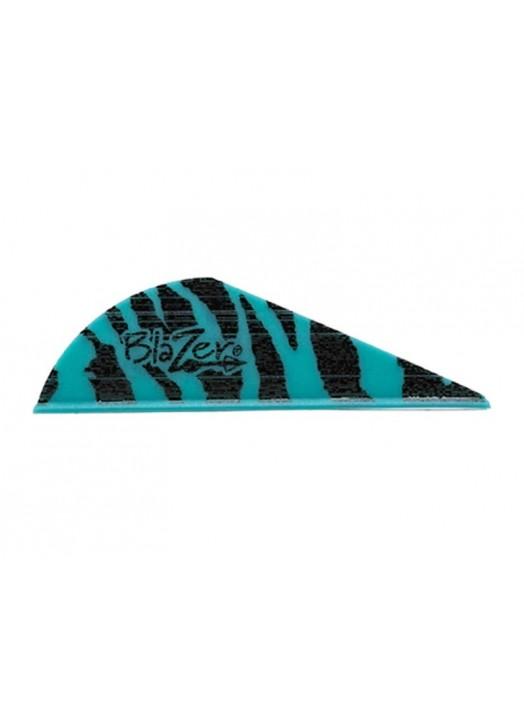 vanes Bohning Blazer bleu sarcelle tigré Teal Tiger