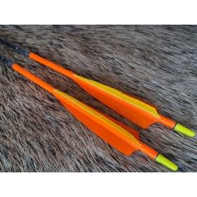 flèches Easton Gamegetter sur mesure 3 plumes naturelles
