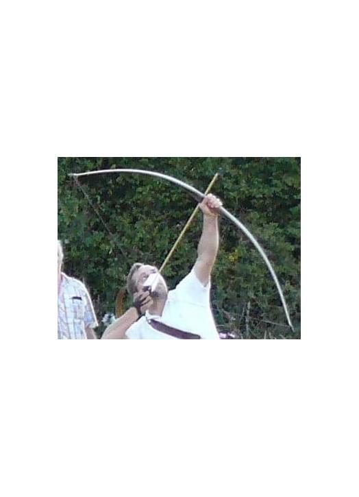 tir en vol à l'arc longbow